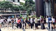 中洲火炭新盤星凱‧堤岸,過去3日開放設於九龍灣金利豐國際中心的展銷中心予外界參觀,發展商表示累計錄約2.8萬參觀人次。