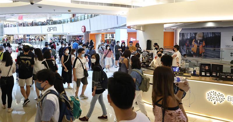 第二期消費券派發首3日 新地十五商場生意升兩成