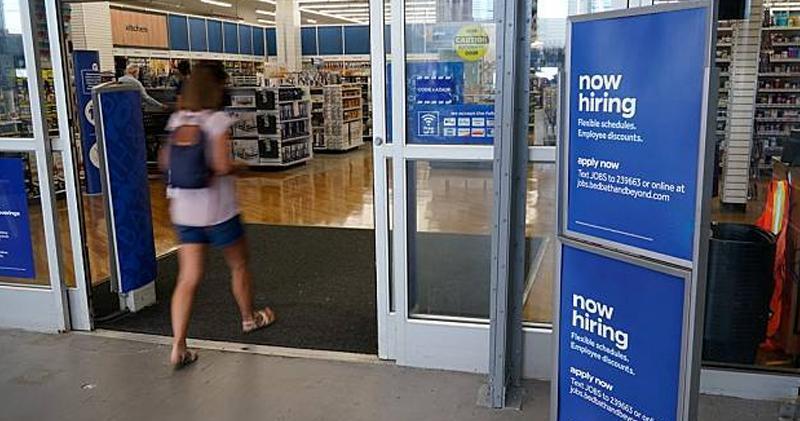 美國上周32.6萬人首申領失業救濟 少過預期