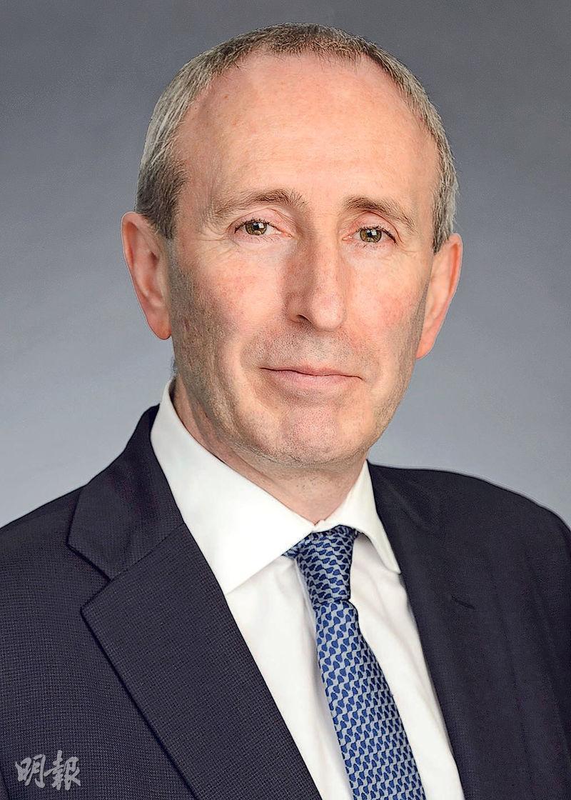 富達國際全球首席投資官 Andrew McCaffery