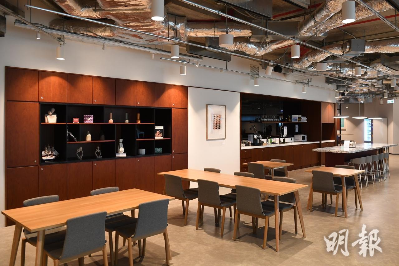Signature進駐東九海濱匯 5萬呎樓面提供逾650辦公桌(賴俊傑攝)