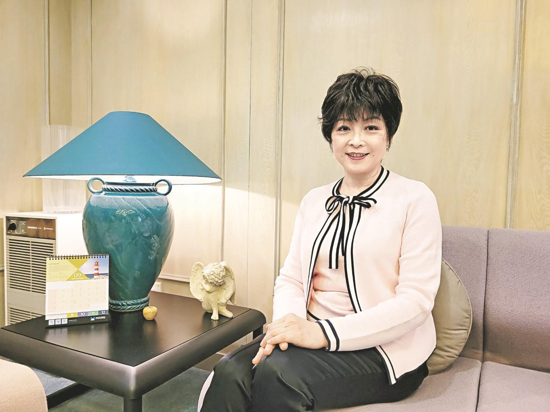 祈福生活服務集團主席兼首席執行官孟麗紅表示,未來集團會專注在發展,開拓更多商機。