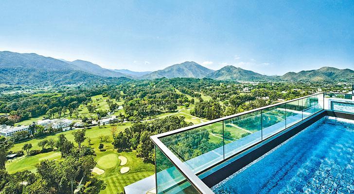 高爾夫.御苑實呎逼3萬區內新高  北部都會區概念刺激  買家逾半億購頂層連泳池戶