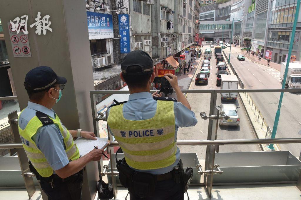 警流動攝錄隊檢控違泊等罪 強調「有片有真相」減爭拗 (14:27)