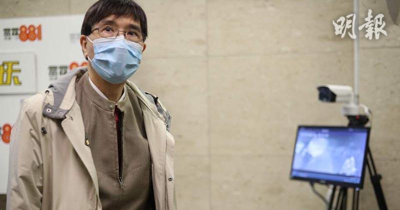 香港大學微生物學系講座教授袁國勇(曾憲宗攝)