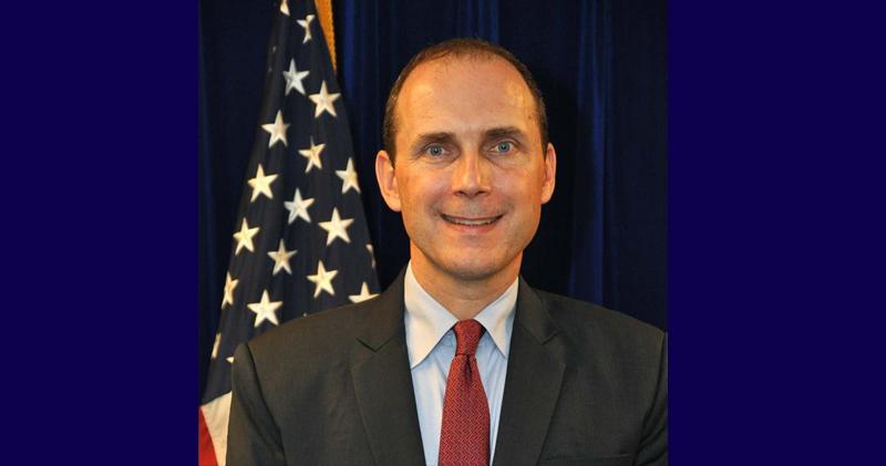 美國駐港總領事史墨客(美國政府網頁圖片)