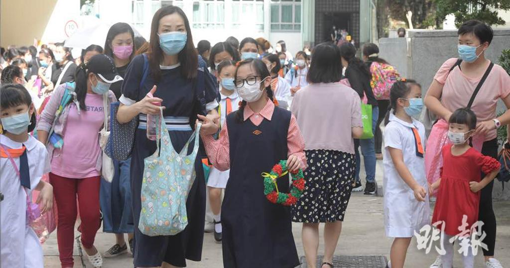 上呼吸道感染丨學校續爆發個案持續 昨再增30小學 衛生防護中心:令新冠肺炎疫情添複雜 (下周初小停面授課 )