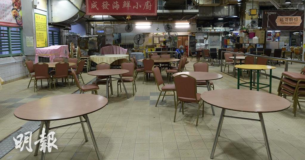 禁堂食 食肆堂食收緊至晚上6時 健身中心美容按摩院關閉 12月10日起生效