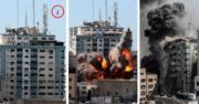 以軍剿哈馬斯空襲夷平加沙大樓 內有美聯社及半島電視台等媒體【短片.多圖】