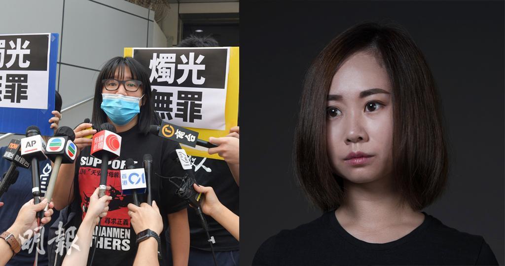 鄒幸彤(左)、袁嘉蔚(右)(資料圖片/袁嘉蔚facebook圖片)