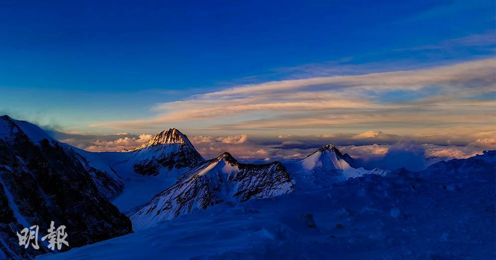 珠穆朗瑪峰景色萬變