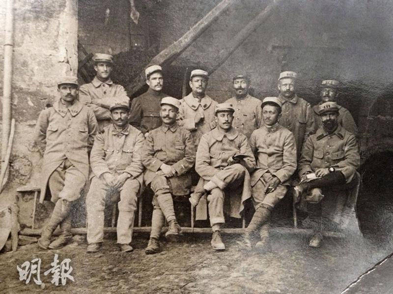 第一次世界大戰結束百年 黑白照看戰役