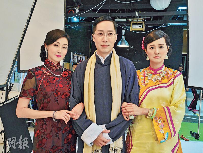 11月公演——舞台劇《偶然.徐志摩》將於十一月公演,萬綺雯(左)、羅敏莊(右)分飾徐志摩的妻子陸小曼與張幼儀。(圖﹕受訪者提供)