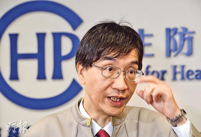 抗菌素耐藥性專家委員會主席袁國勇昨表示,香港抗藥性問題嚴重,要從減少使用抗生素,包括從醫生處方藥物及減少在動物身上使用抗生素等方面着手。(劉焌陶攝)