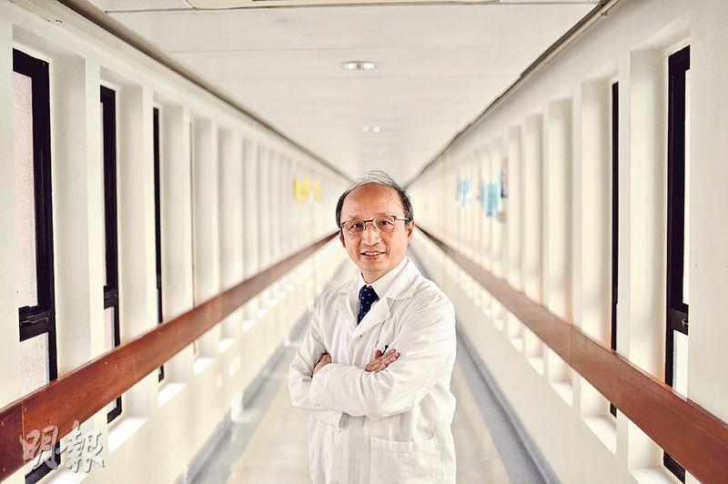 香港兒童醫院專科服務籌備專員(心臟科)周啟東表示,計劃日後與產科商討合作加強產檢,發展「胎兒心臟病」服務,替母胎做心臟檢查。(馮凱鍵攝)