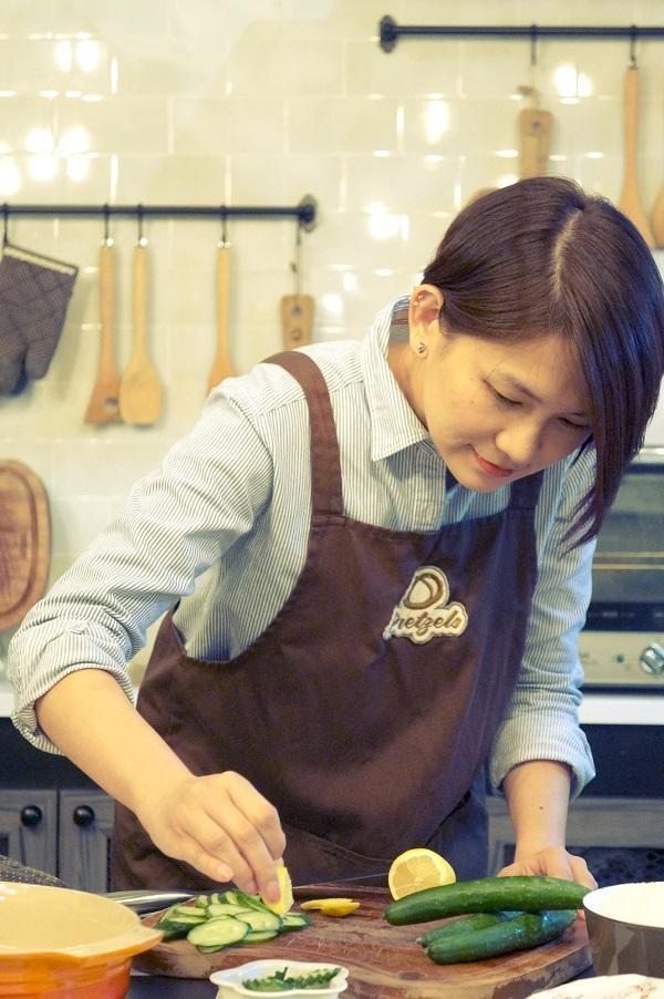 烹飪導師 Cyan Koo 希望藉着烹飪,拉近人與人之間的距離。