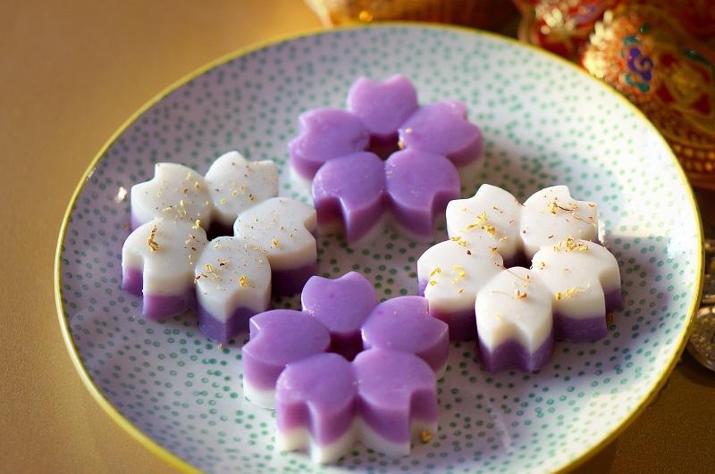 紫玉淮山糕