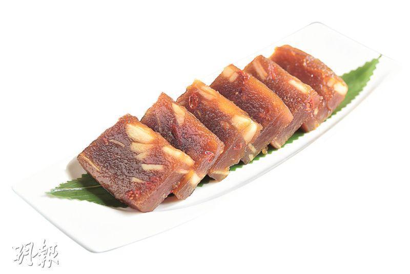 玫瑰黑糖杞子馬蹄糕($268,B)(圖﹕黃志東)