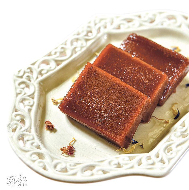 伯爵茶年糕($228/1.5斤裝,G)(圖﹕黃志東)