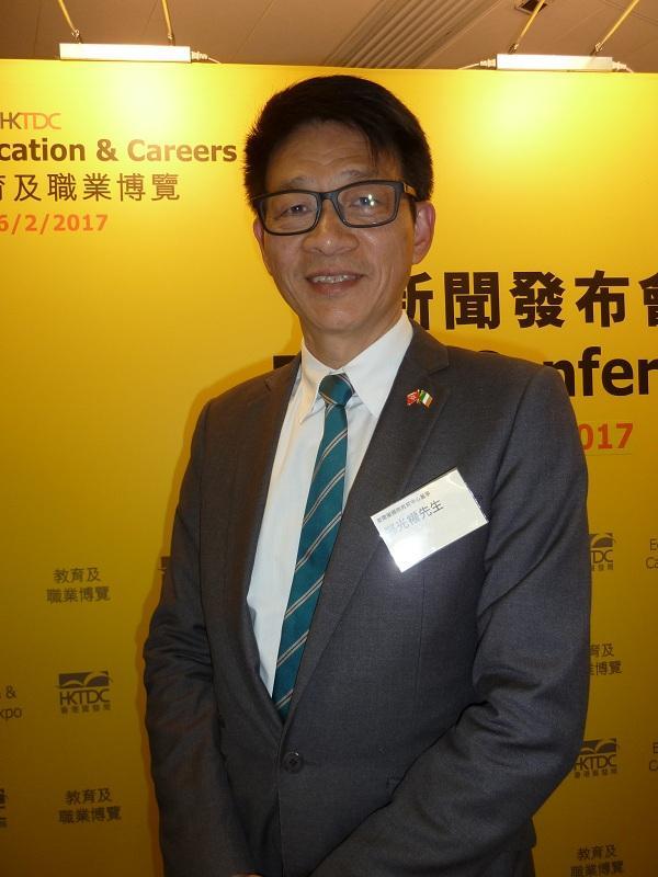 愛爾蘭國際教育中心董事鄭光權