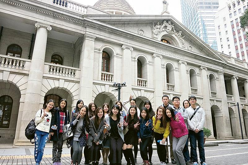 學員到終審法院考察,認識香港司法機關的歷史、架構、運作及設施。