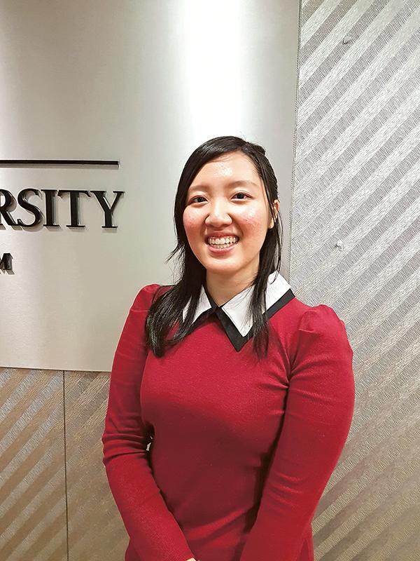 劉芍瑩(Cherie) 心理學學士課程三年級學生