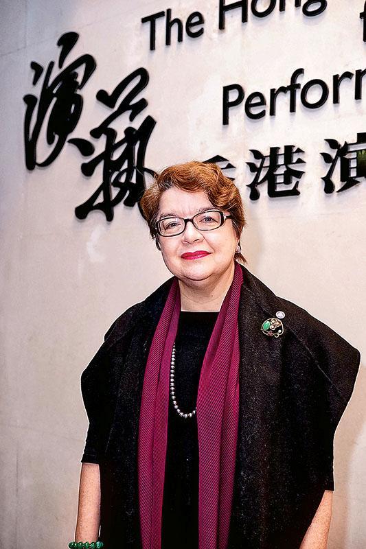 香港演藝學院舞台及製作藝術學院院長蔡敏志教授