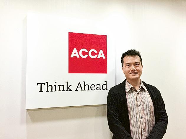ACCA 香港分會教育及發展經理蕭源華(Henry)