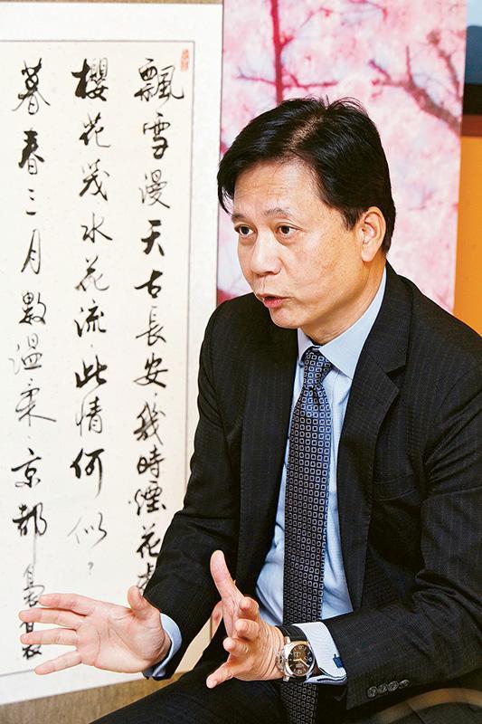 富衛人壽保險首席營銷總監的何志聖