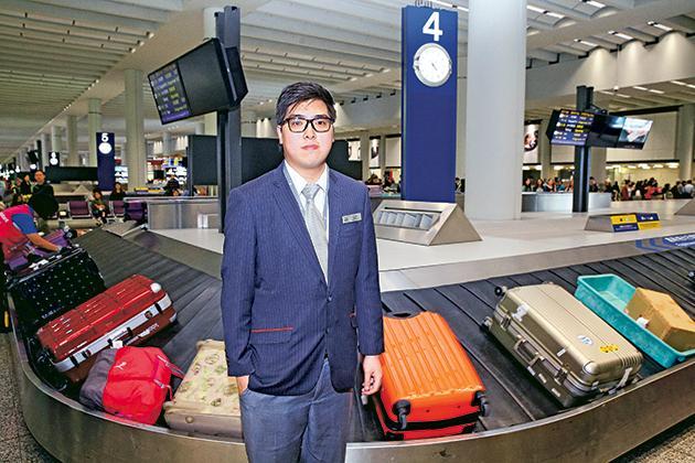 陳駿賢(Karl),行李服務主任