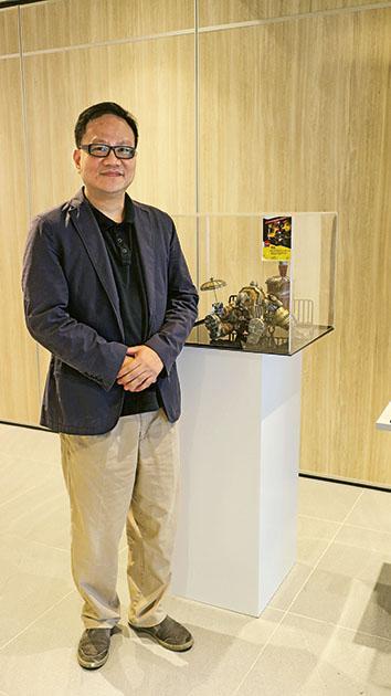 青年會 專業書院設計及藝術系主任梁錦雄