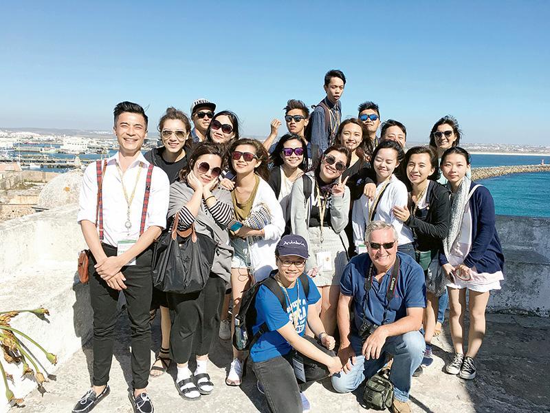 到葡萄牙佩尼謝參加國際交流課程