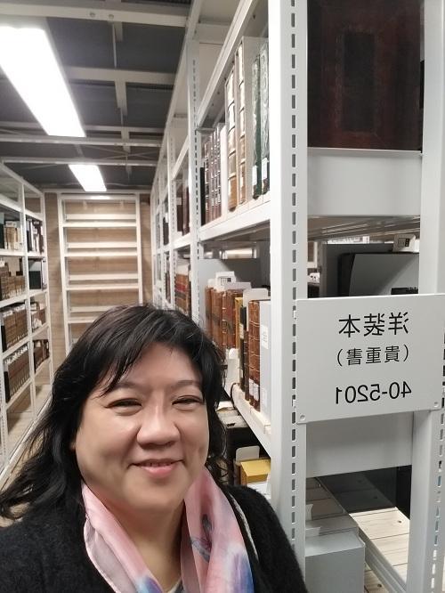 香港大學專業進修學院生命科學及科技學院圖書館及資訊學高級課程主任余玲玲