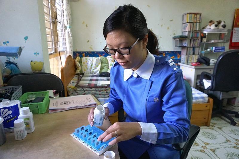 基督教香港信義會社會服務部屯門改善家居及社區照顧服務隊註冊護士郭凱慈