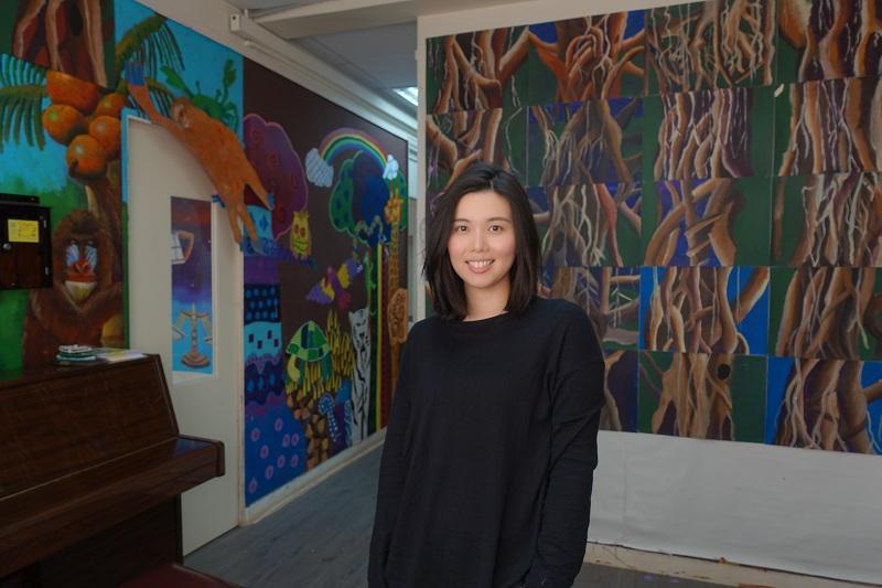 藝術教育創意畫室「ART FARM 藝坊」課程總監Michelle