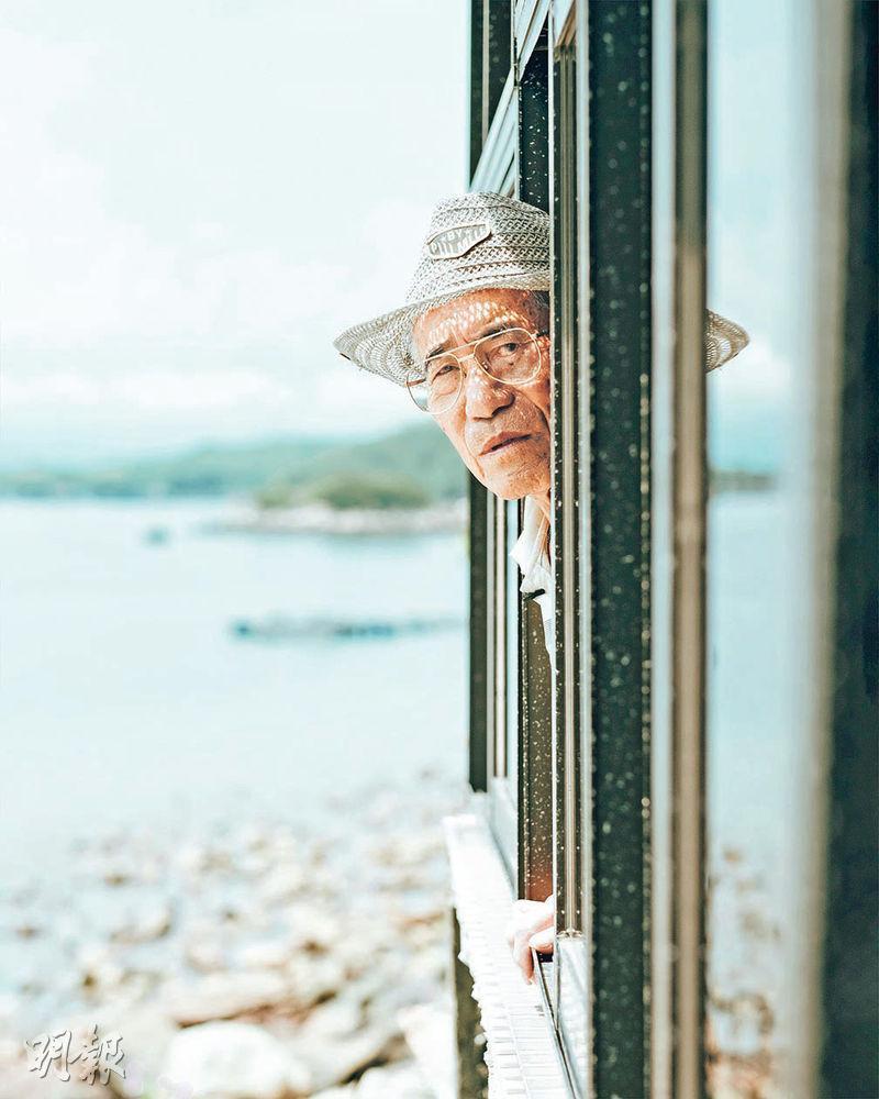 塔門黎伯——在塔門認識到黎連壽,是馬智恆拍《岸上漁歌》的起點,黎伯的後代都不知道長輩有此歌藝。(圖:受訪者提供)