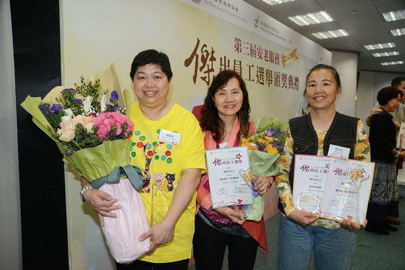 (攝影:Mike) 左起:林慕萍、張貴芬、黃玉培