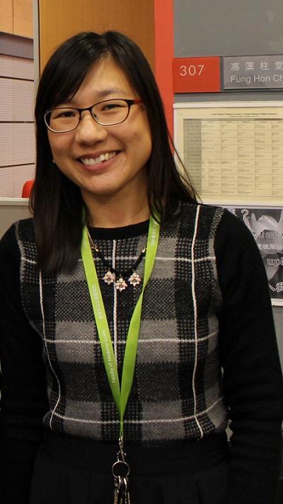 明愛白英奇專業學校健康科學系高級講師、「配藥高級文憑」課程主任陳秀怡 (Windy)