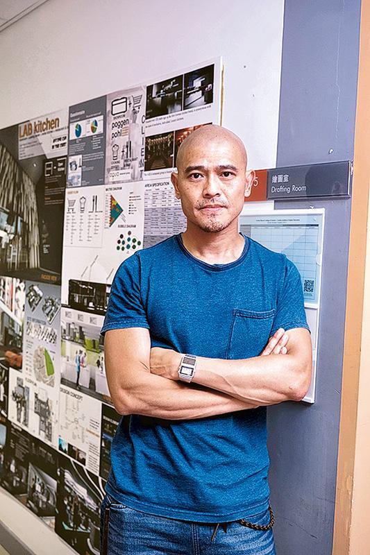 明愛白英奇專業學校設計學系系 主任林仲強(Gary)