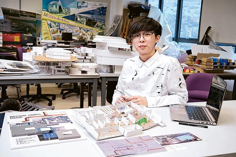 馬慕東(Gabriel)  設計學高級文憑(室內建築)二年級學生