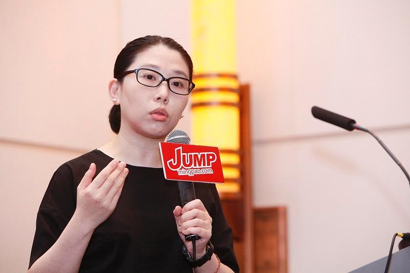 醫院管理局總辦事處高級護士長袁嘉慧