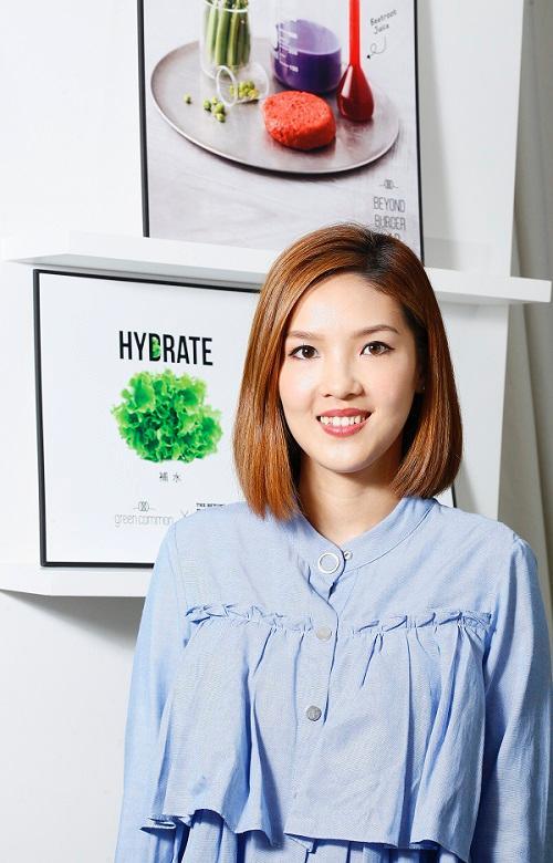Green Monday效益發展經理、註冊營養師劉子欣(Celia)