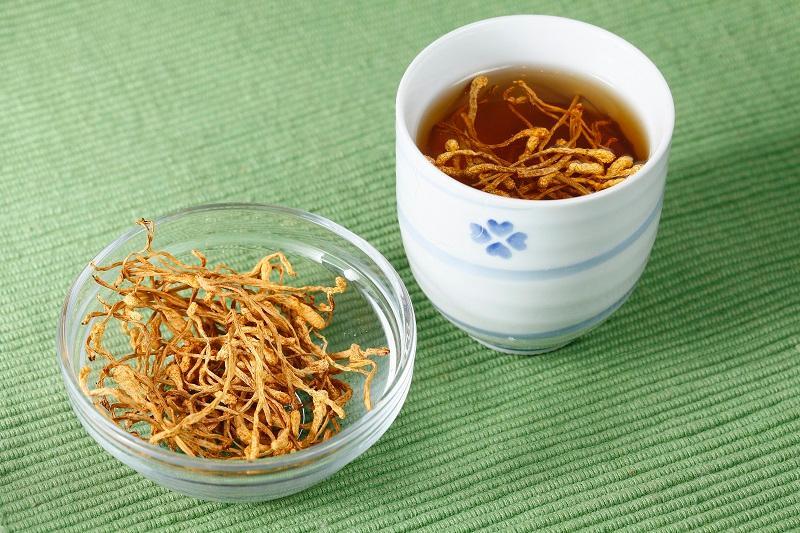 (圖三)蟲草花茶