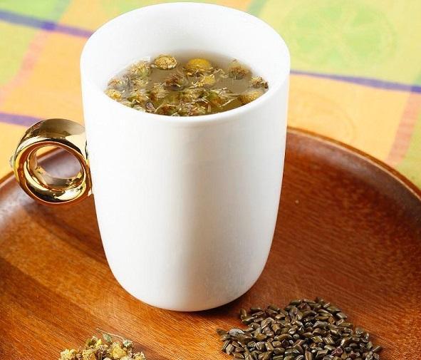 (圖二)決明菊花茶
