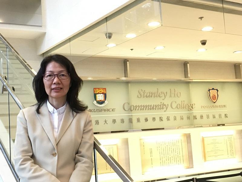 香港大學專業進修學院保良局何鴻燊社區書院「體育及康樂管理高級文憑」、「運動教練學及運動表現高級文憑」課程主任譚美玲