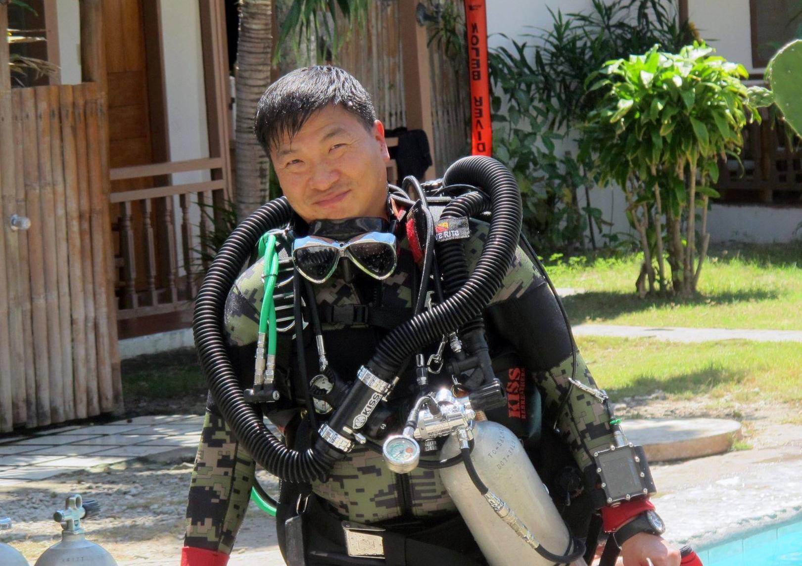 潛水歷險會創辦人區紹堅