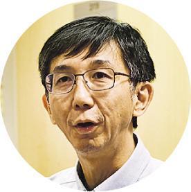 香港中文大學賽馬會老年學研究所副所長、老人科專科醫生郭志銳(圖:蘇智鑫)