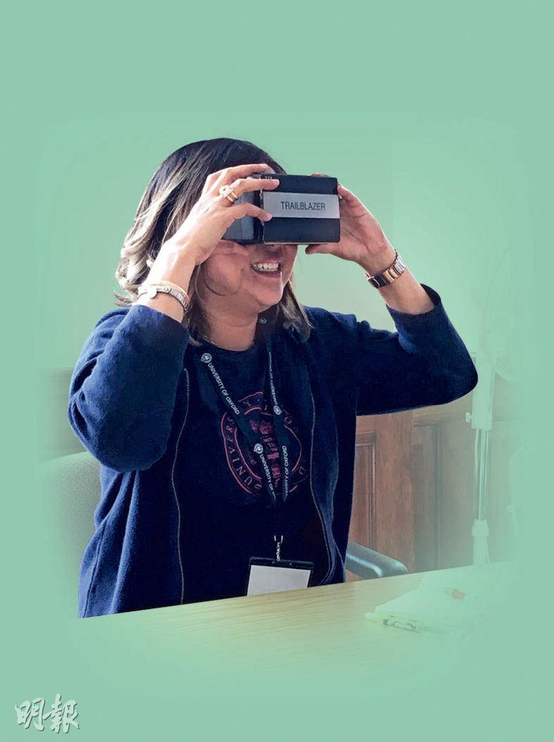 VR學英文——尖端科技並非只與STEM掛鈎,只要用得其法,VR也可成為學英語的工具。