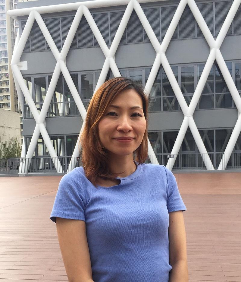 香港知專設計學院 (HKDI) 產品及室內設計學系講師鍾倩薇 (Anna)