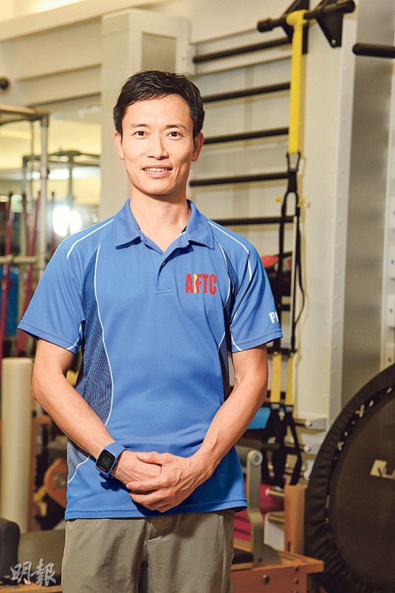 亞洲運動及體適能治療中心註冊物理治療師劉建榮(圖:黃志東)